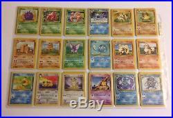 151/150 Original Pokemon Card Set ALL HOLOS 1st Edition Cards Base