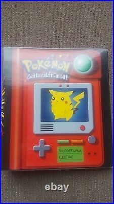 151 Original Binder & Pokemon Card Set ALL HOLOS 1st Edition Cards Base