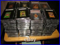 1911 T205 Gold Border Complete Set (215 Different) all Graded PSA SGC Ty Cobb