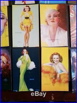 1941 Mutoscope All American Girls FULL SET ORIGINAL NOS PINUP ARCADE EXHIBIT WOW