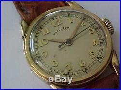 1946 Hamilton Secometer All Original Condition 987S Hack Set Movement Serviced