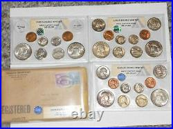 1949 Double Us Mint Set Anacs Graded Very Rare All Original Packaging