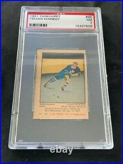 1951-52 Parkhurst Hockey Card Set (105), All Graded, Avg. 6.7, High Grade