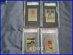 1951 Parkhurst All Graded Complete Set Of 105 Hockey Cards