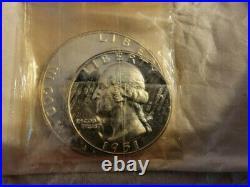 1951 U. S. Mint Proof Set in Original Mint Box all original