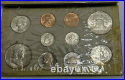 1954 P/D/S Double Mint Set ALL 3 Great Color Board Toned in Original Cardboard