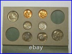 1955 Double Mint Set P, D, S All Original Coins Beautiful Toning #6351