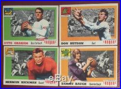1955 Topps ALL AMERICAN FOOTBALL COMPLETE100 card SET High Grade