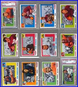 1955 Topps All-American Football Complete Set-NonProfit Organization