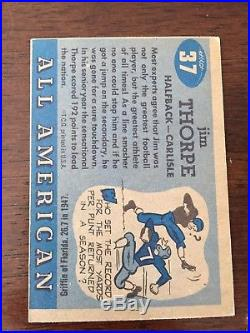 1955 Topps All American Football Near Complete Set Thorpe Four Horsemen Ex-Mint