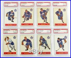 1957 Parkhurst PSA Graded Hockey Set All PSA 7 & Higher Avg 7.4 Richard Duff