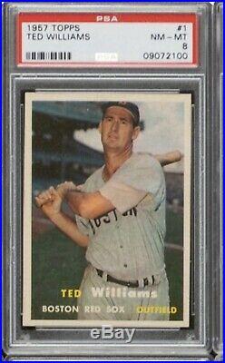 1957 Topps Baseball Complete Set All Graded PSA 8 NM-MT