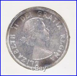 1958 Canada Silver Prooflike set all GEM PL65 original RCMINT wrapper intact