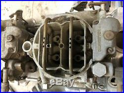 1960 61 62 Corvette 2x4 WCFB Carburetors and intake 270 hp all original set up