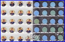 1961-62 Shirriff Salada Hockey Coins Complete Set Of 120 All 6 Original 6 Teams