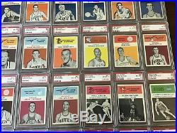 1961 Fleer Partial Set Lot 56 Of 66 All Graded Psa 6 7 Or 8 High Grade