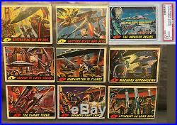 1962 Mars Attacks entire set 55 all-original cards