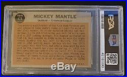 1962 Topps #471 Mickey Mantle All Star PSA 6 EX-MT
