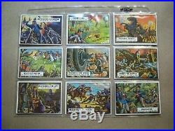 1962 Topps Civil War News Complete Set 1-88, all EX to NM, Checklist Unmarked NM