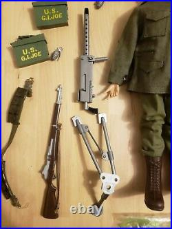 1964 1966 GI Joe Sears EXCLUSIVE Machine Gun Emplacement Set All Original