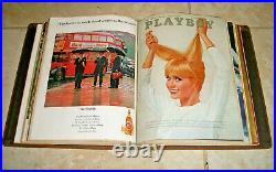 1965 Playboy Magazine Complete Full Year Set (All 12 Issues) in Original Binders