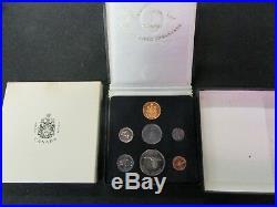 1967 Gold Specimen Royal Canadian Mint Set All Original Packages