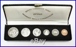 1970 Canada VIP specimen coin set original boxes all coins gem specimen SP66