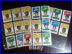 1970 TOPPS BASEBALL PARTIAL SET 710/720 all HOFers are present + Bonus