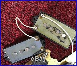 1971 Fender Precision Bass Pickup 10.94k All Original Complete Set