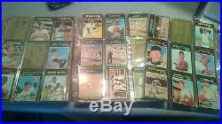 1971 Topps Baseball Near Complete Set 586 cards all different