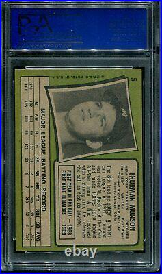 1971 Topps Complete Set ALL 752 cards graded PSA 8 Munson Ryan Rose Clemente