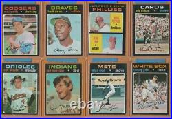 1971 Topps Complete Set, EXMT, lot includes 85 graded all PSA 6's or better