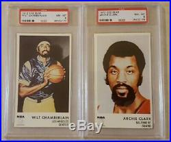 1972 Icee Bear Complete Set All PSA 8 or 9 West Maravich Chamberlain Robertson