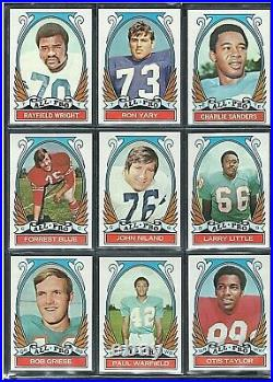 1972 TOPPS Football Series 3 High Numbers 264-287 VERY RARE ALL PRO SET LOT
