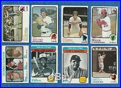 1973 Topps Baseball Complete Set- Hi Grade Ex Mt+ All In Binder Schmidt Rc