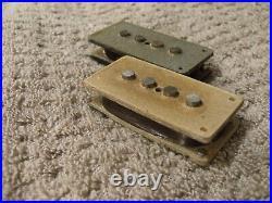 1975 Fender Precision Bass Pickup Set All-original But Not Working Needs Rewind