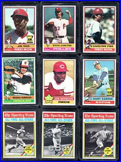 1976 Topps BASEBALL COMPLETE Set of 704 ALL CENTERED High Grade NM/MT to MINT