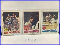 1977-78 Topps Basketball Set 1-132 All in EX-NM Condition