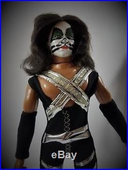 1978 Mego Kiss 12 Doll Set Gene Paul Peter Ace Original Complete All 4 Nice