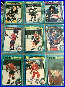 1979-80 OPC Hockey Starter Set (377/396 cards) not all commons great shape