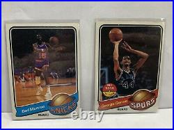 1979-80 Topps Basketball Complete Set 1-132 All in EX-NM Condition