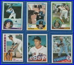 1981-1985 Topps Baseball Complete Sets Nr Nt/mt All Rc's- Psa Ready