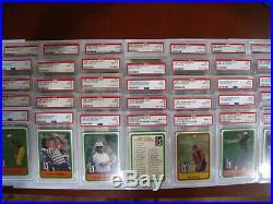 1981 Donruss Golf Parcel Set (49 Cards) ALL PSA 9 Mint No qualifiers $5.91 Ea