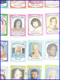 1982 1983 Wrestling All-Stars Series Complete 108 Card Set A B Hogan Flair Andre
