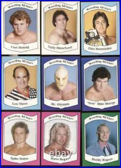 1982 Wrestling All-Stars EXMT 1983 complete 108 card set 1st nice 65478