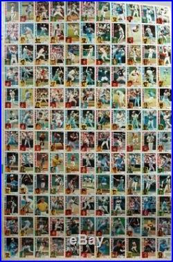 1984 TOPPS BASEBALL CARDS UNCUT SHEET SET WithALL 6 SHEETS MATTINGLY STRAWBERRY RC