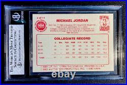 1985-86 Star All Rookie Team Michael Jordan #2 Bgs 7.5 Near Mint+