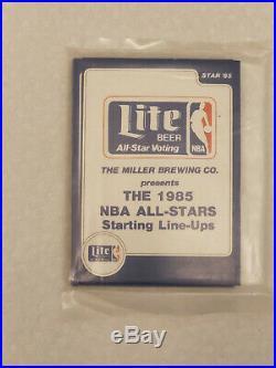 1985-86 Star Miller Lite All Star Set