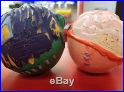 1985 All 8 Vintage Madballs complete original set made in Taiwan bonus weirdball