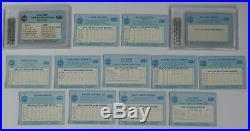 1985 Star Lite All Stars COMPLETE SET With #4A MICHAEL JORDAN VAR BGS 8.5 NMMT+